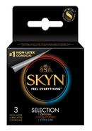Lifestyles Skyn Selection Non Latex Lubricated Condoms...