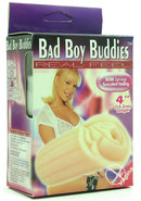 Bad Boy Buddies Real Feel Vagina 4 Inch Flesh